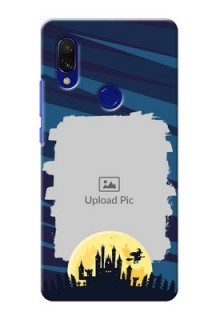 Redmi 7 Back Covers: Halloween Witch Design