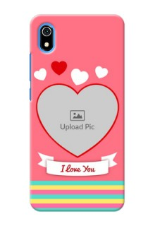 Redmi 7A Personalised mobile covers: Love Doodle Design