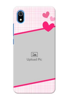 Redmi 7A Personalised Phone Cases: Love Shape Heart Design