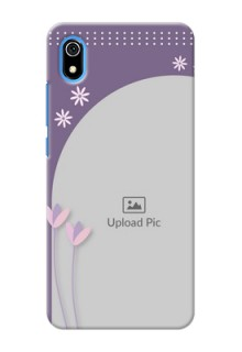 Redmi 7A Phone covers for girls: lavender flowers design