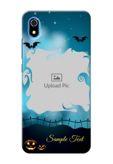 Redmi 7A Personalised Phone Cases: Halloween frame design