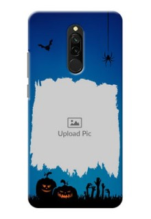 Redmi 8 mobile cases online with pro Halloween design