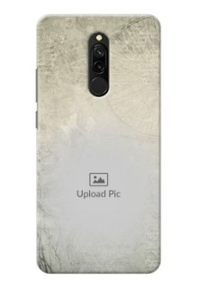Redmi 8 custom mobile back covers with vintage design