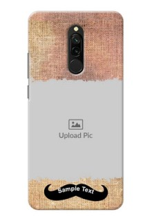 Redmi 8 Mobile Back Covers Online with Texture Design