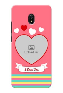 Redmi 8A Personalised mobile covers: Love Doodle Design