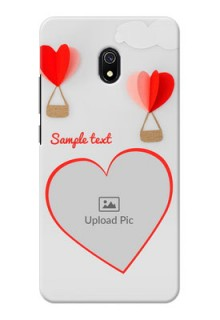 Redmi 8A Phone Covers: Parachute Love Design