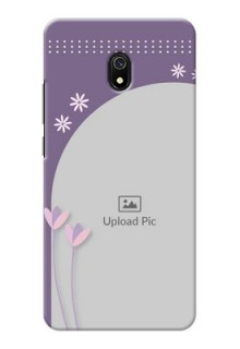 Redmi 8A Phone covers for girls: lavender flowers design