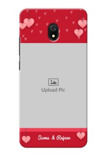 Redmi 8A Mobile Back Covers: Valentines Day Design