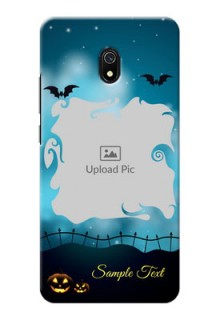 Redmi 8A Personalised Phone Cases: Halloween frame design