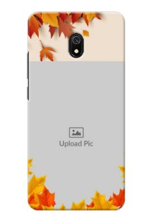 Redmi 8A Mobile Phone Cases: Autumn Maple Leaves Design