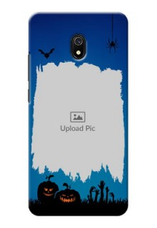 Redmi 8A mobile cases online with pro Halloween design