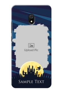 Redmi 8A Back Covers: Halloween Witch Design
