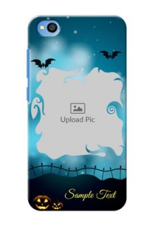Redmi Go Personalised Phone Cases: Halloween frame design