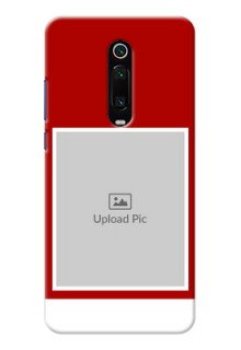 Redmi K20 Pro mobile phone covers: Simple Red Color Design