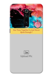 Redmi K20 Pro Mobile Cases: Quote with Acrylic Painting Design