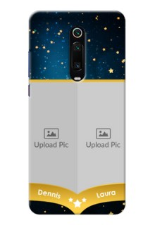 Redmi K20 Pro Mobile Covers Online: Galaxy Stars Backdrop Design