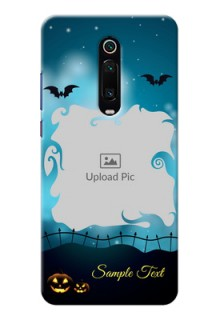 Redmi K20 Pro Personalised Phone Cases: Halloween frame design