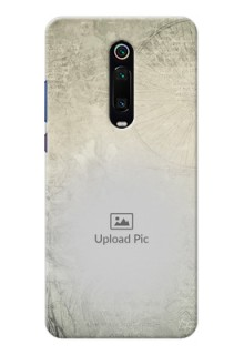 Redmi K20 Pro custom mobile back covers with vintage design