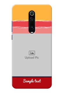 Redmi K20 custom mobile phone covers: Colorful Case Design