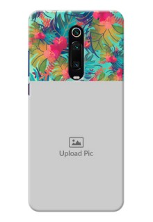 Redmi K20 Personalized Phone Cases: Watercolor Floral Design