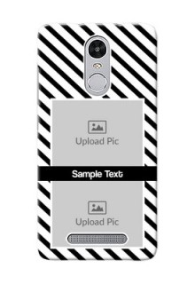 Xiaomi Redmi Note 3 Pro 2 image holder with black and white stripes Design