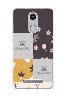 Xiaomi Redmi Note 3 Pro 3 image holder with florals Design