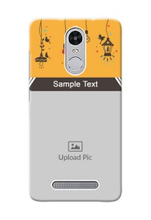 Xiaomi Redmi Note 3 Pro my family design with hanging icons Design