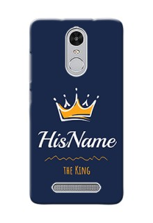 Xiaomi Redmi Note 3 Pro King Phone Case with Name