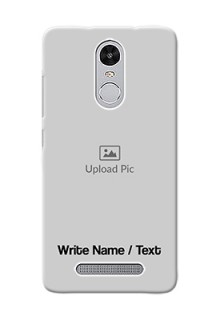 Xiaomi Redmi Note 3 Pro Mobile Cover: Photo with Text