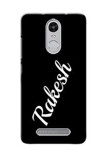 Xiaomi Redmi Note 3 Pro Custom Mobile Cover with Your Name