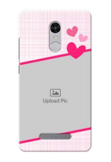 Xiaomi Redmi Note 3 Pink Design With Pattern Mobile Cover Design