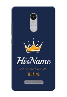 Xiaomi Redmi Note 3 King Phone Case with Name
