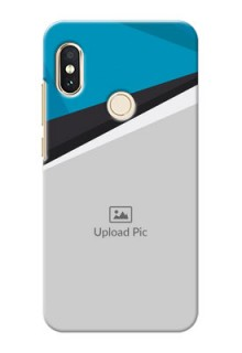 Redmi Note 5 Pro Back Covers: Simple Pattern Photo Upload Design