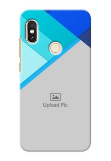 Redmi Note 5 Pro Phone Cases Online: Blue Abstract Cover Design