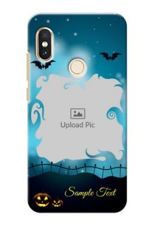 Redmi Note 5 Pro Personalised Phone Cases: Halloween frame design