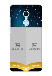 Xiaomi Redmi Note 5 2 image holder with galaxy backdrop and stars  Design