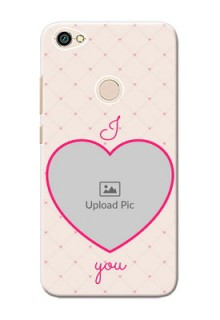 Xiaomi Redmi Note 5A Love Symbol Picture Upload Mobile Case Design