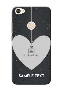 Xiaomi Redmi Note 5A Hanging Heart Mobile Back Case Design