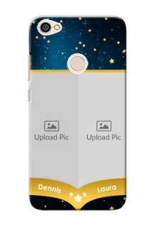 Xiaomi Redmi Note 5A 2 image holder with galaxy backdrop and stars  Design