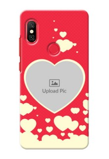 Redmi Note 6 Pro Phone Cases: Love Symbols Phone Cover Design
