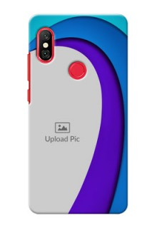Redmi Note 6 Pro custom back covers: Simple Pattern Design