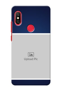 Redmi Note 6 Pro Mobile Cases: Simple Royal Blue Design