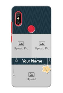 Redmi Note 6 Pro Mobile Back Covers Online: Hanging Stars Design