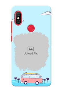 Redmi Note 6 Pro Mobile Covers Online: Travel & Adventure Design