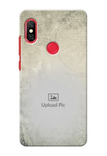 Redmi Note 6 Pro custom mobile back covers with vintage design