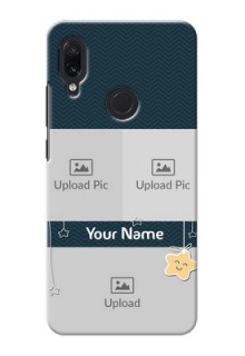 Redmi Note 7 Pro Mobile Back Covers Online: Hanging Stars Design