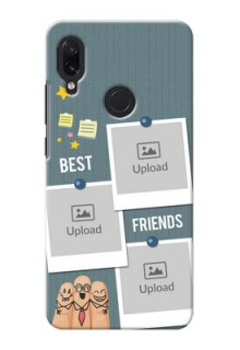 Redmi Note 7 Pro Mobile Cases: Sticky Frames and Friendship Design