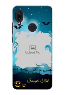 Redmi Note 7 Pro Personalised Phone Cases: Halloween frame design