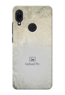 Redmi Note 7 Pro custom mobile back covers with vintage design