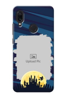 Redmi Note 7 Pro Back Covers: Halloween Witch Design
